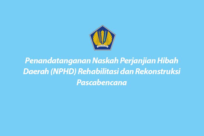Penandatanganan NPHD Hibah
