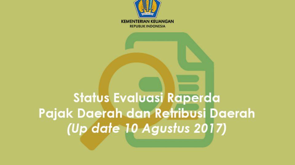 Status Raperda 10 Agustus