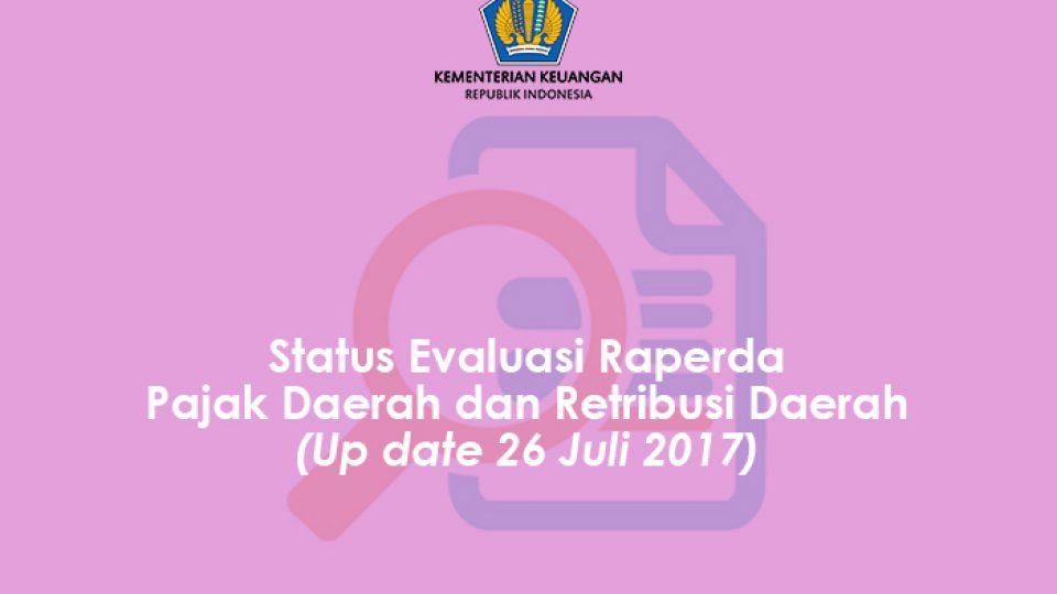 Status Raperda 26 Juli