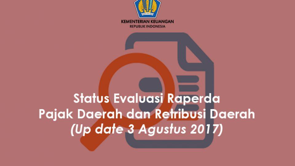 Status Raperda 3 Agustus