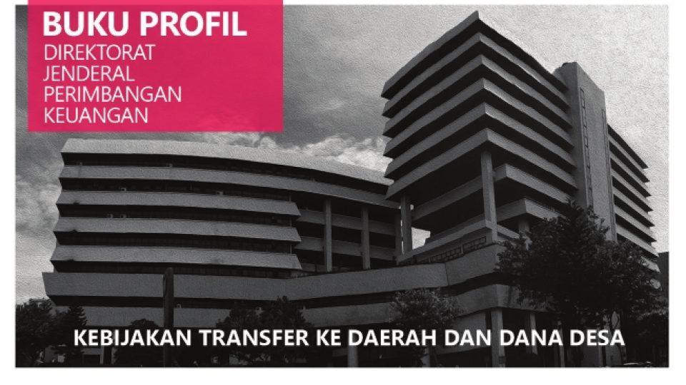 Cover Buku Profil DJPK 2016