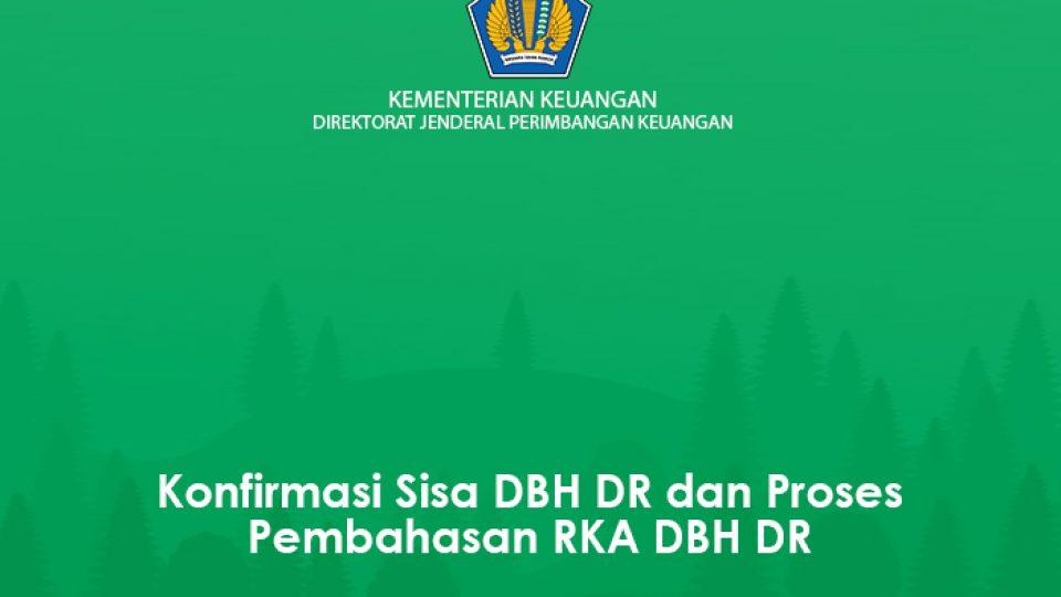 01 Konfirmasi Sisa DR