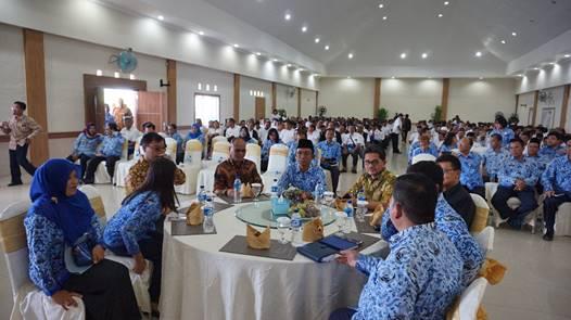 """""""Peserta diseminasi merupakan camat, kepala desa, perangkat desa, serta Forum Komunikasi Pimpinan Daerah di Kabupaten Simalungun"""""""
