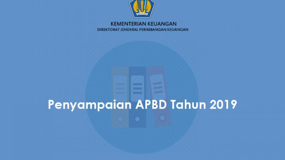 Penyampaian APBD 2019