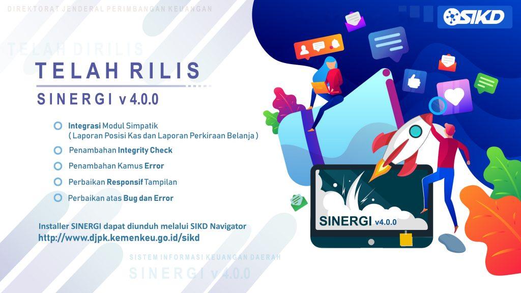 update sinergi 4.0.0 tulisan SIKD putih