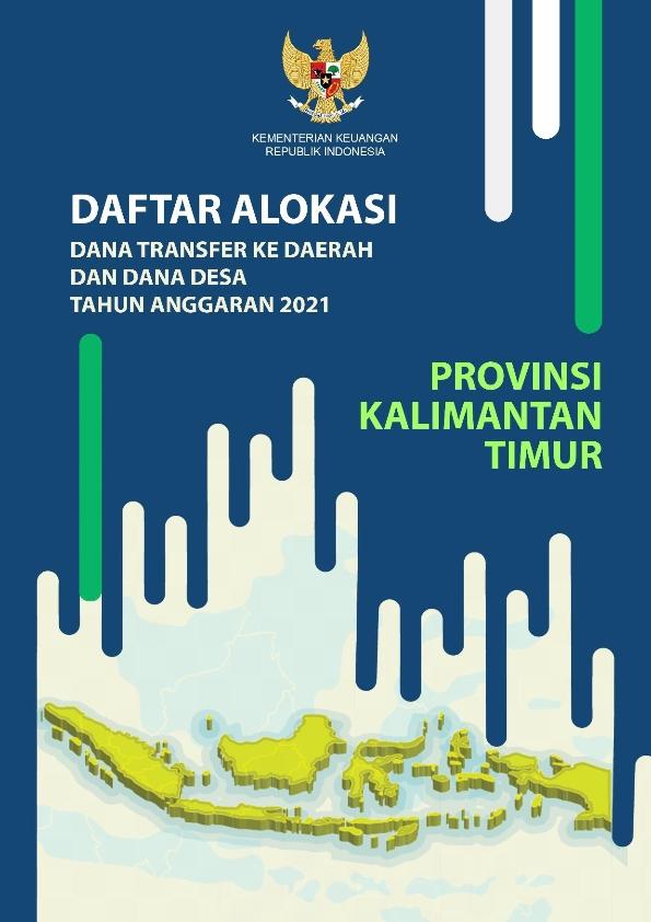 Daftar Alokasi TKDD 2021 Prov. Kalimantan Timur