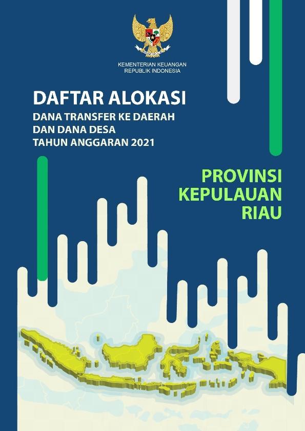 Daftar Alokasi TKDD 2021 Prov. Kepulauan Riau