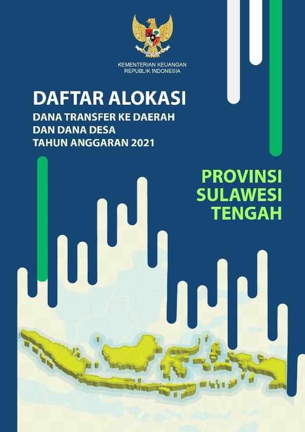Daftar Alokasi TKDD 2021 Prov. Sulawesi Tengah